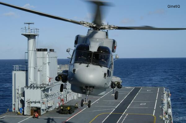 QinetiQ to provide test and evaluation for Merlin helicopters