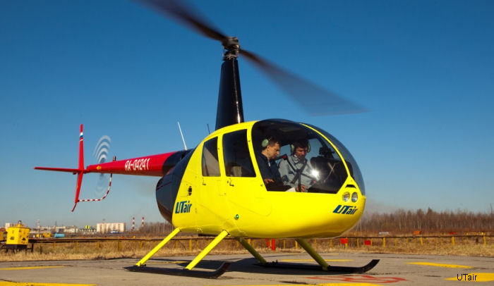 Robinson R44 Flight Training Device (FTD) manufactured by Transas  successfully passed flight tests by both UTair and Russian Aviation Agency test pilots.