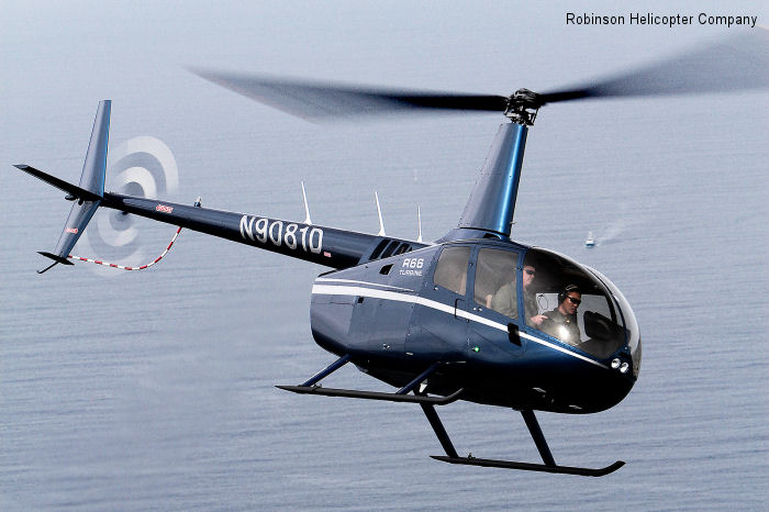 Robinson Helicopter Company Delivers 500th R66 Helicopter