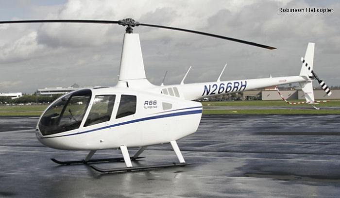 Robinson R66 Receives EASA Certification