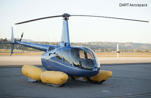 Canadian R66 Operators Can Now Fly Safely With DART R66 Emergency Float System
