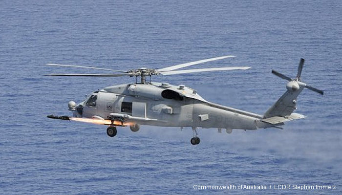 Hellfire missile firing a first for new Navy helicopters