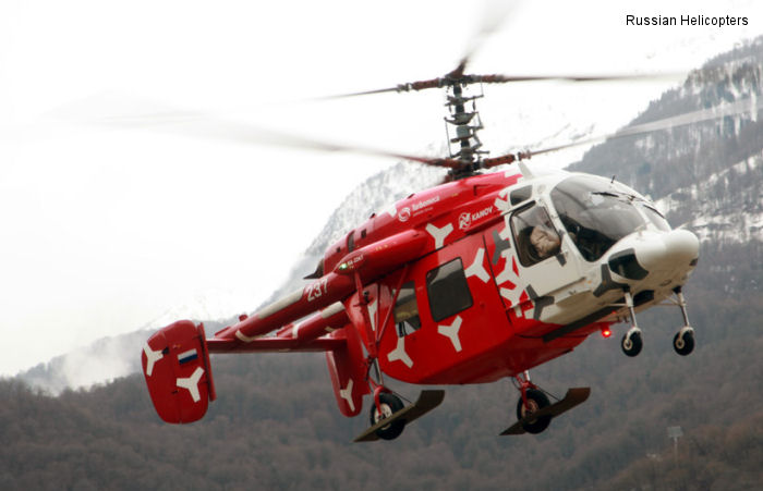 Russian Helicopters role in XXII Winter Olympic Games in Sochi