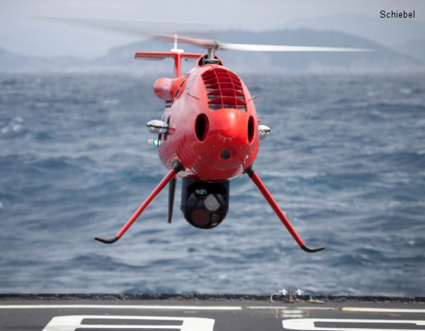 Schiebel Camcopter S-100 wins Italian Navy Contract