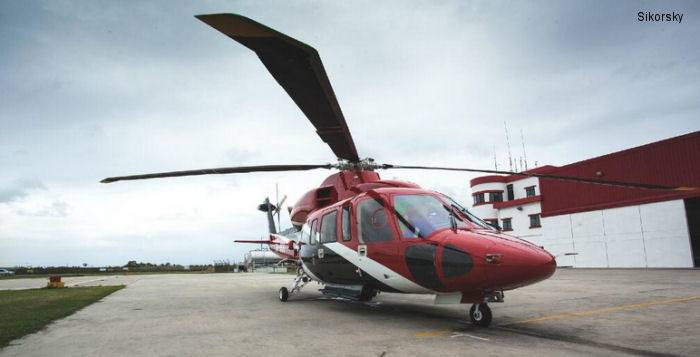 National Helicopter Services Reaches 500 Flight Hours in S-76D Helicopter