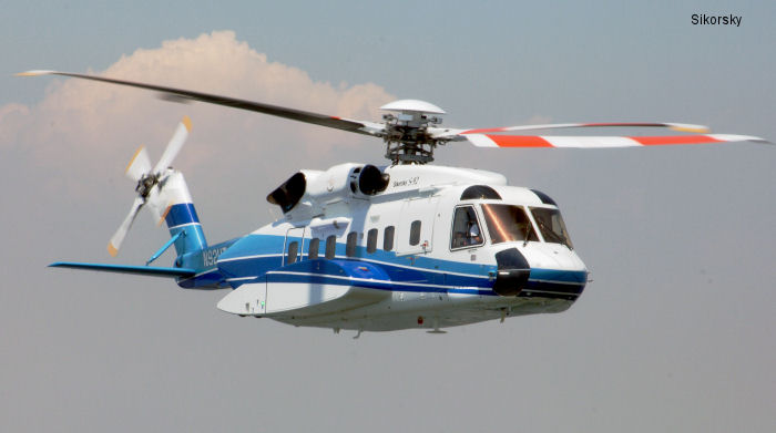 The European Aviation Safety Agency (EASA) has certified Sikorsky S-92 helicopter for AMS 8.0 and ADS-B Out.