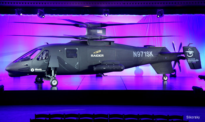 Sikorsky Unveils S-97 Raider Helicopter