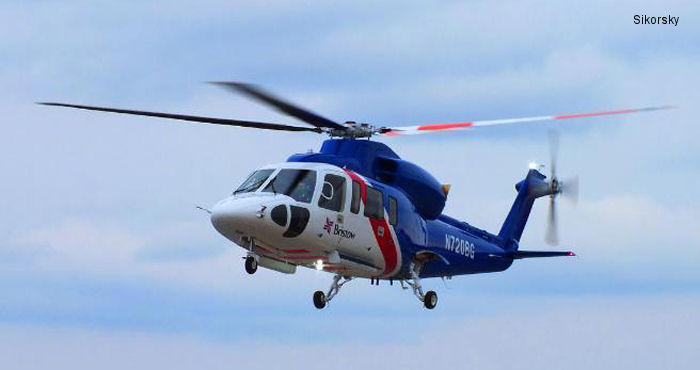 Sikorsky Delivers First Fully Configured S-76D Aircraft to Bristow Group for Offshore Oil Service