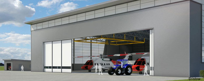 Construction of a new Search and Rescue (SAR) helicopter base at St Athan began. Two helicopters operated by Bristow on behalf of the Maritime and Coastguard Agency (MCA) will be operational from 2015