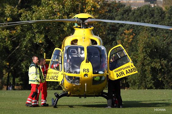 Hampshire and Isle of Wight Air Ambulance to Feature in Primetime Series on Sky1