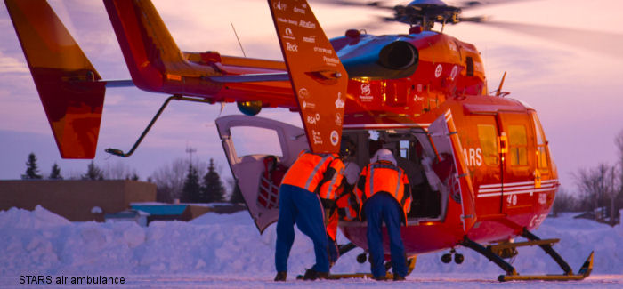 STARS is the first helicopter air ambulance service in Canada to begin stocking blood in advance for life-saving transfusions on air medical missions.