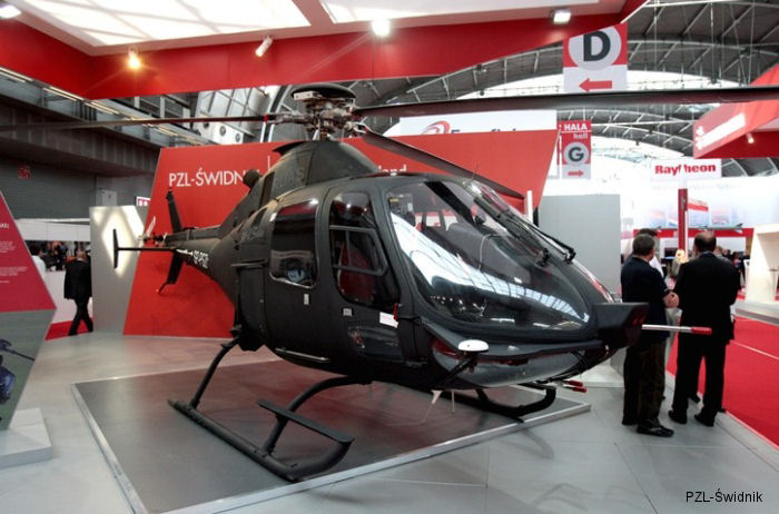 PZL-Świdnik exhibits technology of the future at MSPO 2014 with the SW-4 Solo RUAS/OPH