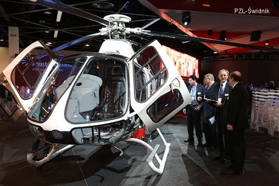 AgustaWestland's Small PZL-Świdnik SW-4 Makes Big Impression At Heli Expo