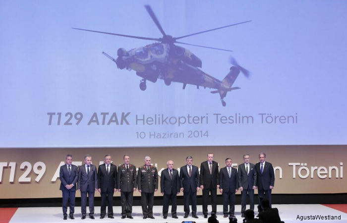 Turkish Armed Forces Takes Delivery of T129 ATAK Helicopter