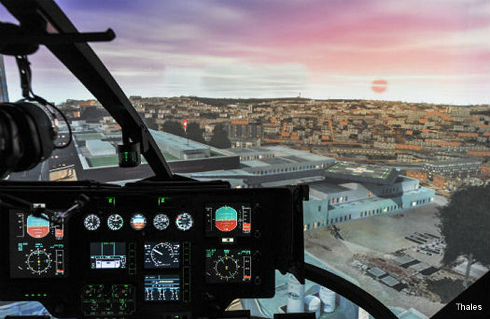Boeing Defence Australia (BDA) teamed with Thales for the Helicopter Aircrew Training System (HATS) to develop a low-risk solution around the Airbus EC135.