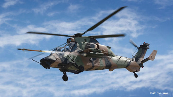 BAE Systems APKWS Tested on Australian Tiger