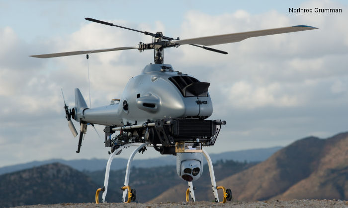 Northrop Grumman, Yamaha Motor, U.S.A., Collaborate on Unmanned Helicopter System Rotary Bat incorporates latest autonomous control, intelligence gathering technologies