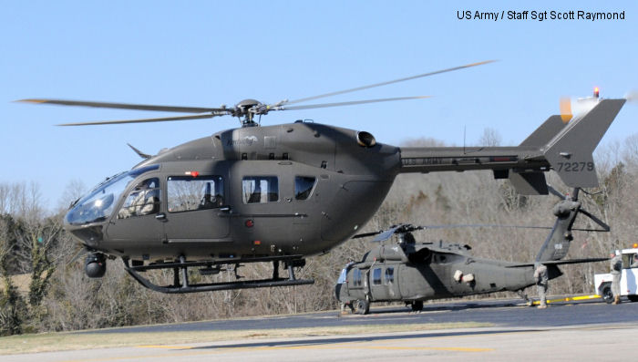 Kentucky Army Guard unveils new helicopters