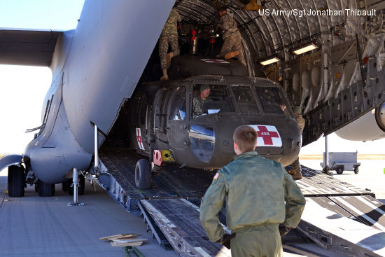 Army, Air Force conduct load training