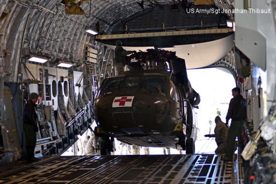US  Army, Air Force conduct load training