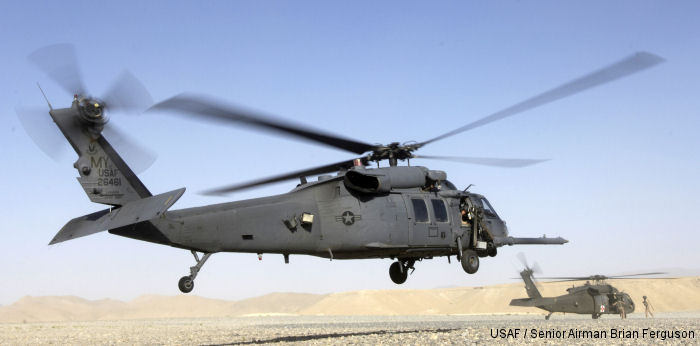 HH-60G currently operated only by Air Combat Command, and serves the vital role of combat medical evacuation.