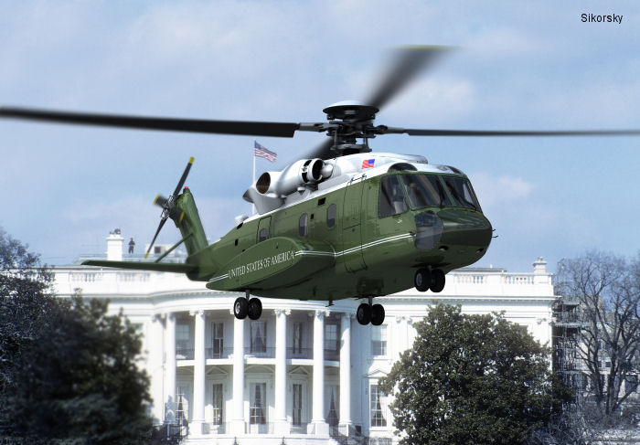 Sikorsky Wins U.S. Navy Contract to Replace Marine One Helicopter Fleet