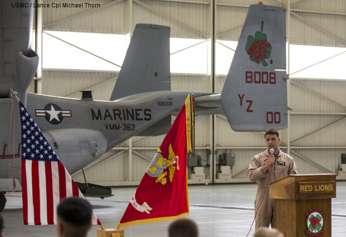 VMM-363 celebrates 62nd anniversary of service, unveils new insignia