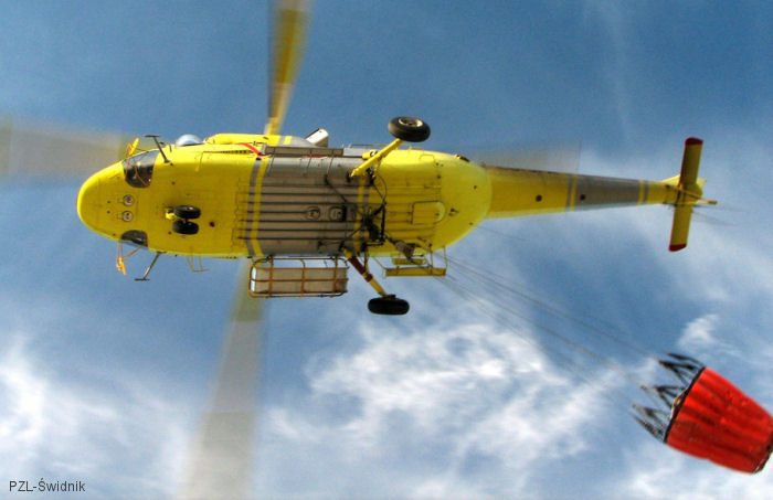 Spanish company Hispánica de Aviación S.A (HASA) signs for 3  fire-fighting configured W-3A Sokol. HASA existing fleet includes 26 helicopters produced by PZL-Swidnik, 13 of them from Sokol range