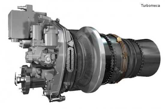 Turbomeca announces the first rotation of the Arrano