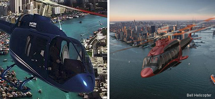 Bell Helicopter will showcase the Bell 505 Jet Ranger X, Bell 525 Relentless, these both for the first time, and the Bell 407GX at the Zhuhai Airshow China in Guangdong from November 11–16