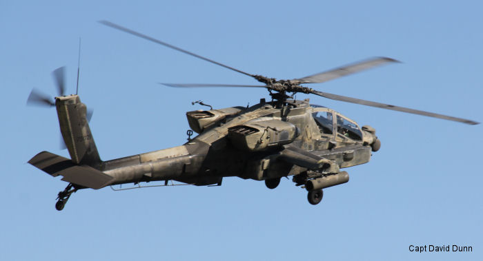 "1-158th Aviation Regiment ""Ghost Riders"" conducted one of their final AH-64 Apache gunnery ranges at North Fort Hood, Texas prior to transitioning to the UH-60 Black Hawk"