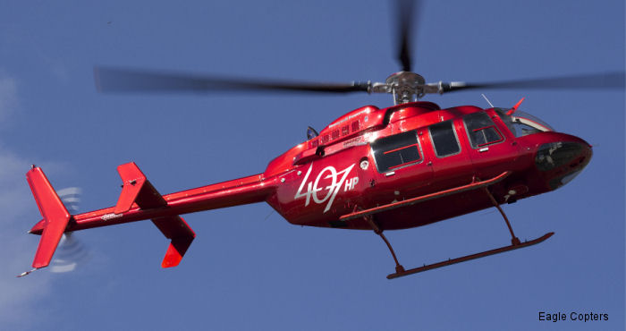 The US  Federal Aviation Administration has granted certification to Eagle Helicopters for its Eagle 407HP aircraft. The move comes less than two weeks after Transport Canada certified the helo.