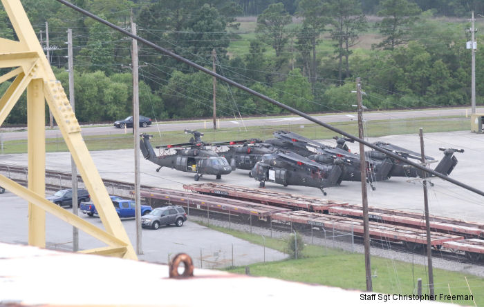 82nd CAB Helicopters Return From Afghanistan