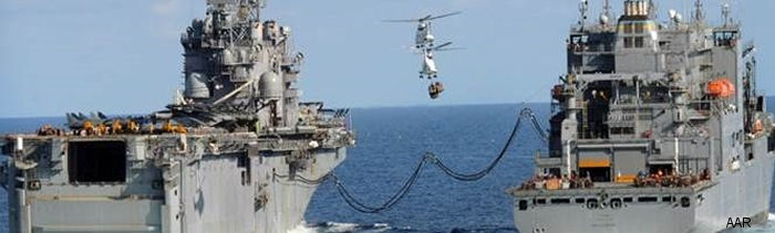 Military Sealift Command (MSC) has exercised a one-year renewal option for its Airlift division to perform vertical replenishment (VERTREP) for U.S. Navy's 5th and 7th Fleets