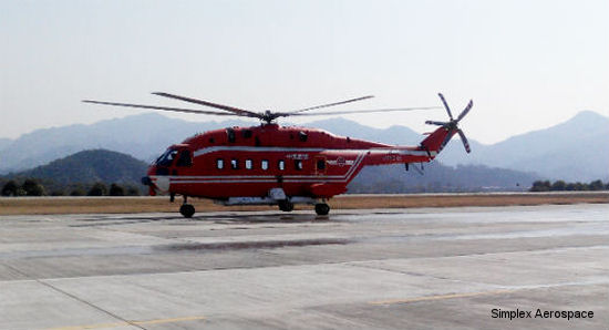 Simplex Aerospace receives order for six model 380A Fire Attack Systems from Avicopter China