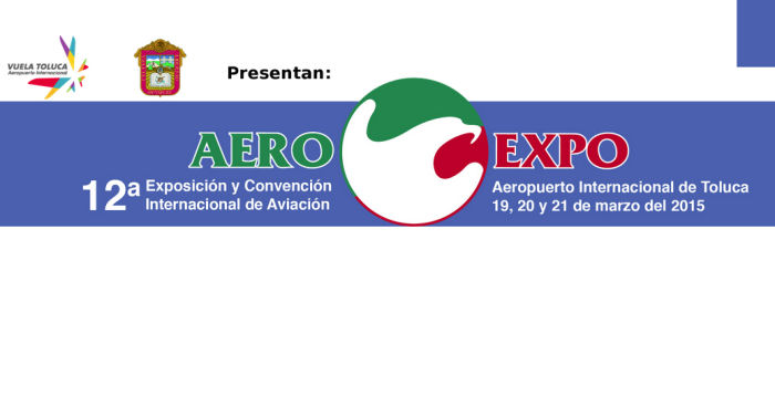 Bell will showcase the 407GX and 429 plus a 505 mockup at the 12th edition of the International Aviation Tradeshow and Convention, 2015 AeroExpo in Toluca, Mexico, March 19-21