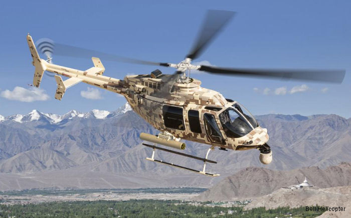 Bell Helicopter and Textron Systems announced their presence during Aero India 2015, February 18-22, at Air Force Station Yelahanka, Bengaluru