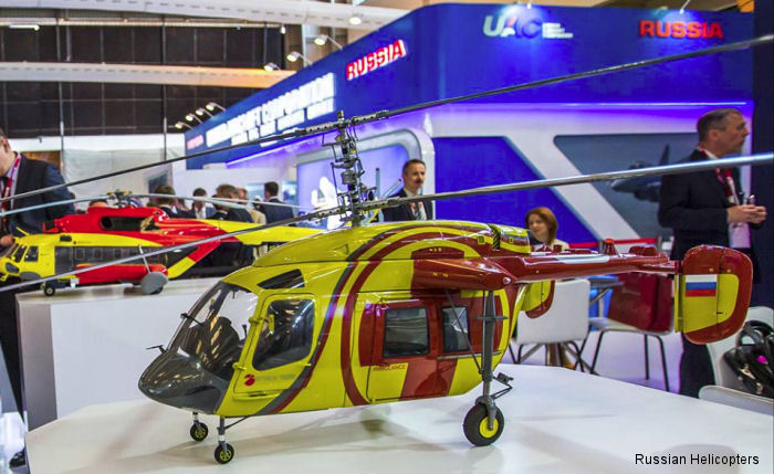 Russian Helicopters showcases commercial and military helicopters at Aero India 2015