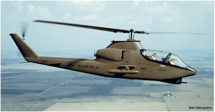 Fifty years ago the Bell 209 AH-1 Cobra took flight; historic day ushered in new era of attack helicopters