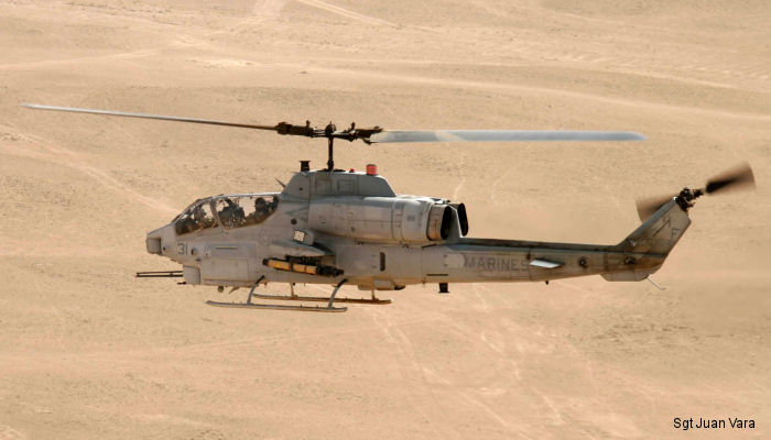 For the first time, tube-launched optically-tracked wireless-guided (TOW) 2A radio frequency (RF) missiles were launched from an AH-1W Super Cobra attack helicopter