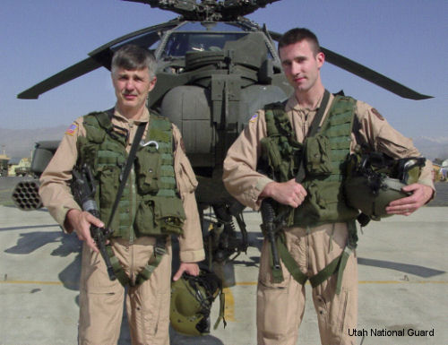 Utah Guard Army aviator first to reach 10,000 hours in Apache
