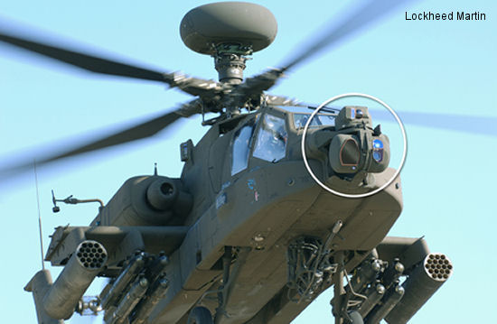 US Army awarded Lockheed Martin a $107.8 million FMS contract to provide Modernized Target Acquisition Designation Sight/Pilot Night Vision Sensor (M-TADS/PNVS) systems for India s AH-64E Apaches