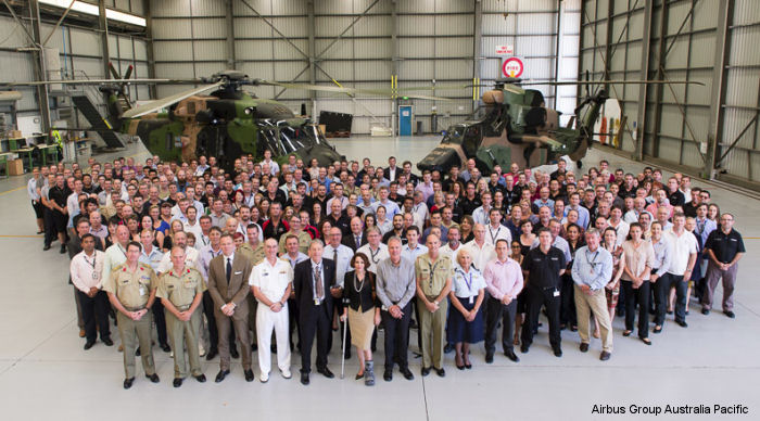 The Australian Defence Force and Airbus Group Australia Pacific have commissioned a joint support centre on Brisbane Airport to be staffed by civilian and Defence personnel.