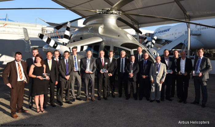Airbus Helicopters launched its first Suppliers Awards ceremony in what is to become an annual affair in order to recognize suppliers actively contributing quest for competitiveness.