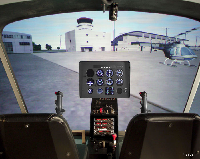 Frasca International has been contracted to provide a Bell 206L Level 7 Flight Training Device (FTD) to Air Evac Lifeteam, O'Fallon, Missouri.