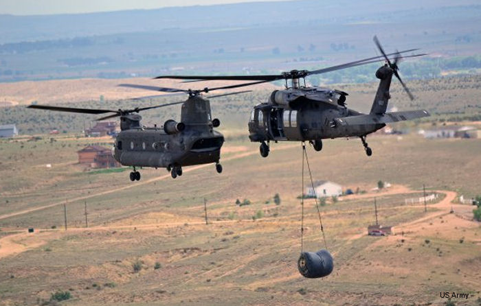 Air Industries will produce landing gear for the Boeing CH -47 Chinook and Sikorsky UH-60 Black Hawk helicopters.
