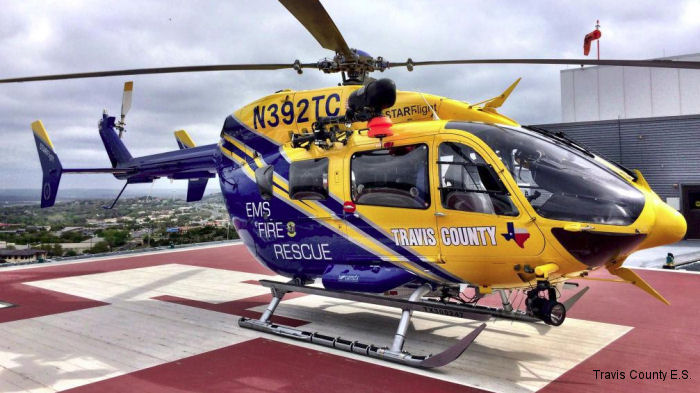 Metro will feature an EC145 law enforcement, search and rescue and EMS completion utilized by STAR Flight in Travis County at ALEA 2015