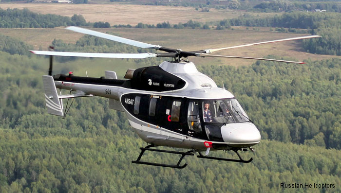 First customers for five of the new light Kazan Helicopters Ansat  will be Tatarstan-based Tulpar Helicopters and Vietnam based Vector Aviation Company.