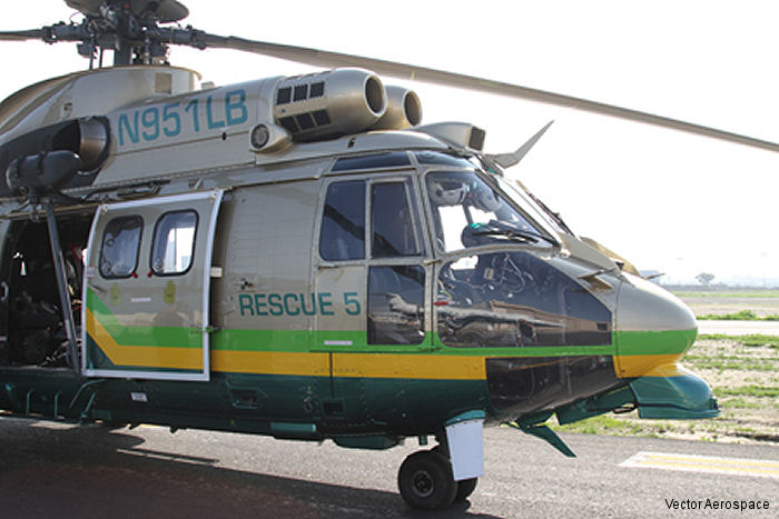 Vector Aerospace has been selected to perform a 7,500 hour major inspection (G check) and 12-year inspection on one of the Los Angeles County Sheriff's Department's three AS332L1 Super Puma