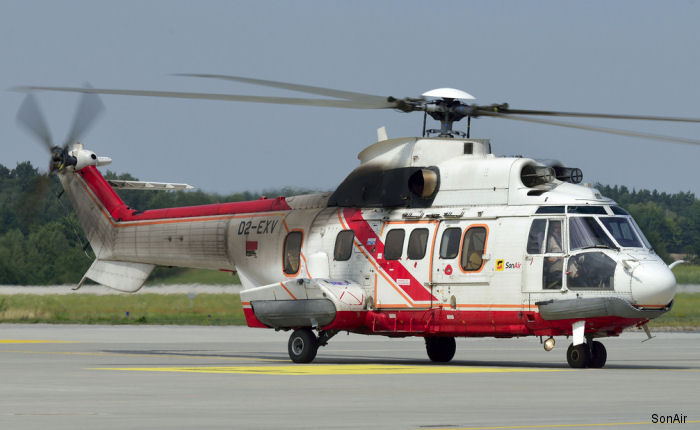 SonAir Serviço Aéreo, Angolan helicopter operator, four Super Pumas helicopters will receive G-Check inspections at Heli-One's facility in Rzeszow, Poland.
